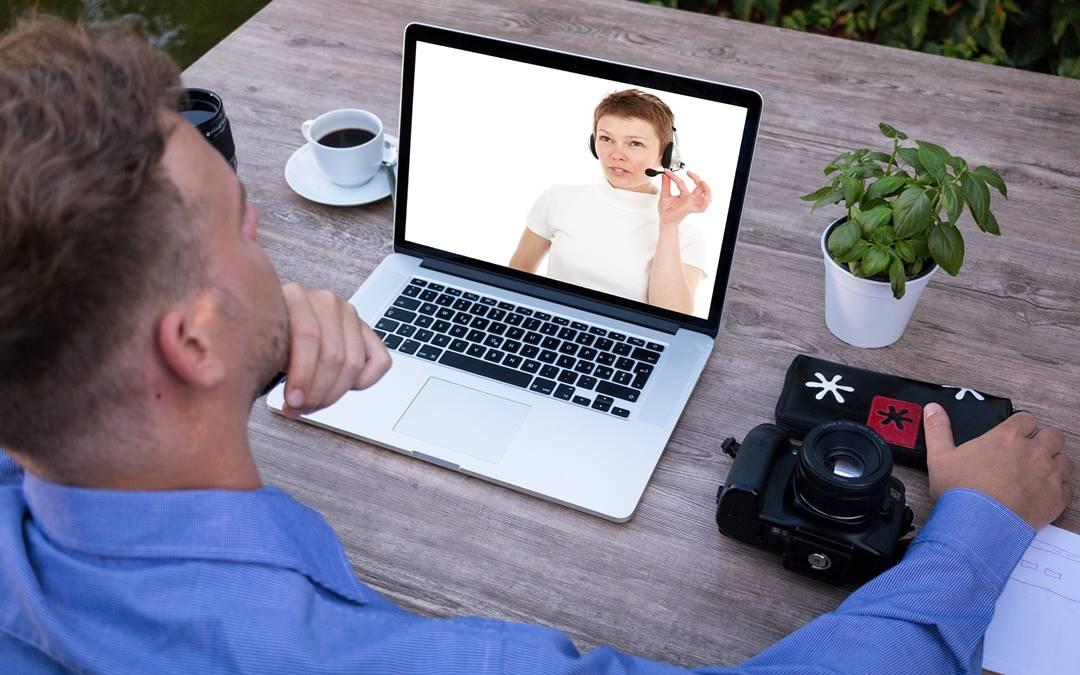 Internet jako środek komunikacji podczas rozmowy kwalifikacyjnej